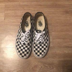 Vans - checkered